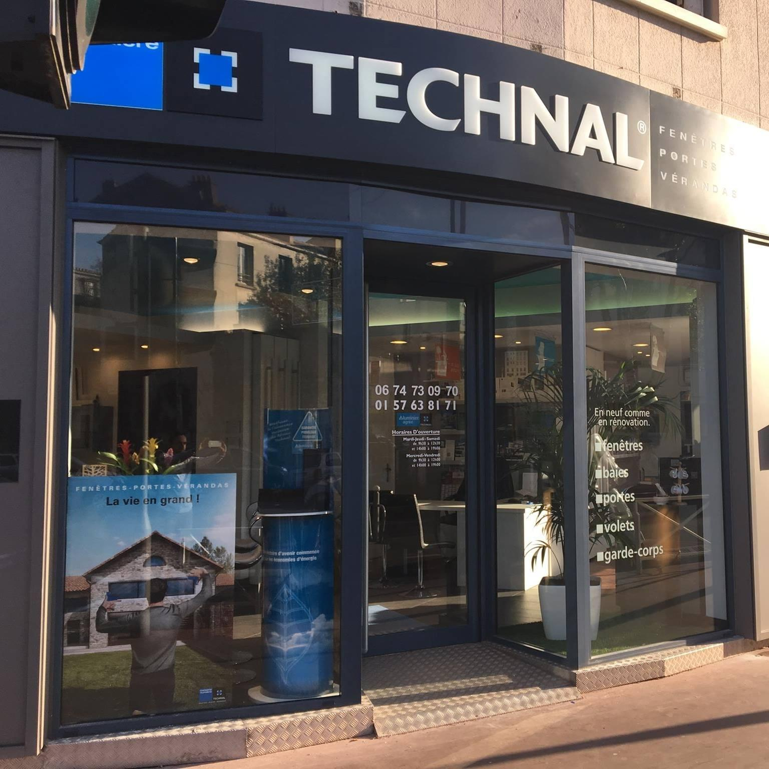 Showroom Menuiseries Aluminium Technal à Montrouge Installateur